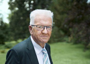 Der Ministerpräsident von Baden-Württemberg, Winfried Kretschmann. Foto: Die Grünen BW (Pressefoto)
