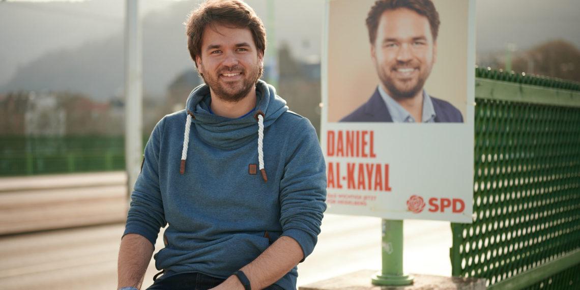 Daniel Al-Kayal fordert mehr soziale Gerechtigkeit für Heidelberg. Foto: Nicolaus Niebylski