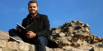 Der ehemalige Heidelberger  Student Jan A. Baßler schreibt jetzt Fantasy-Romane. Bild: Jan A. Baßler.