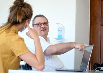 Der Austausch von Menschen mit und ohne Beeinträchtigungen ist zentral am AW-ZIB. Bild: Presse/PH Heidelberg